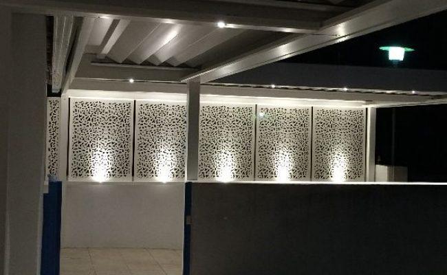 Éclairage moucharabiehs modernes Montpellier