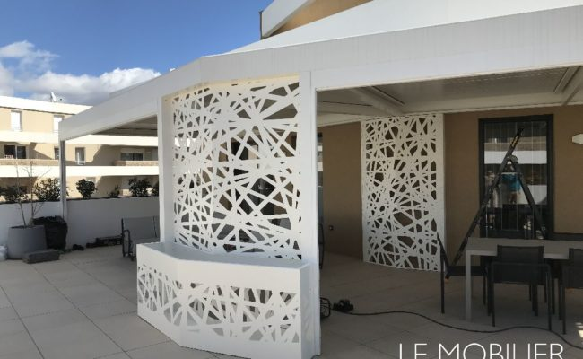 Jardinière outdoor design Montpellier