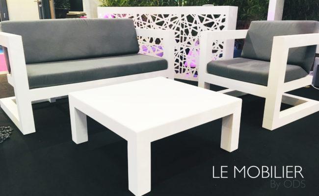 Salon de jardin luxe Montpellier