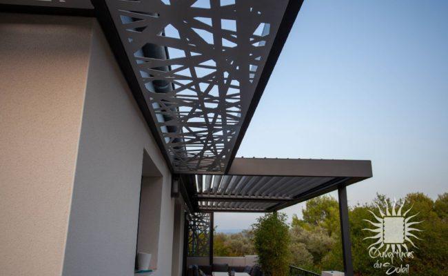 Moucharabieh aluminium Montpellier