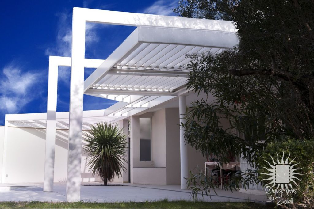 Pergola blanche Antibes