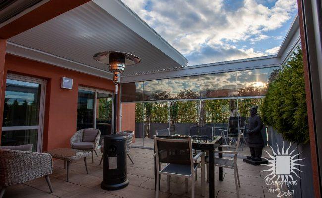 Pergola à lames rétractables luxe Montpellier
